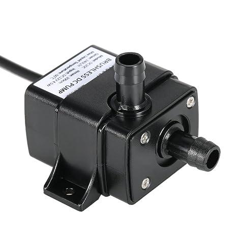 Anself Ultra-quiet Mini DC12V Micro Brushless Water Oil Pump 240L/H 5W Lift  3M