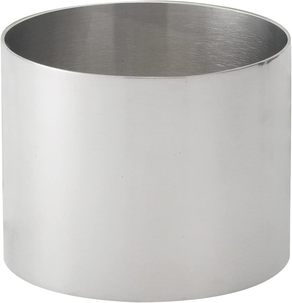 HIC Food Ring, 18/8 Stainless Steel, 2-Inch Diameter x 2.75-Inches