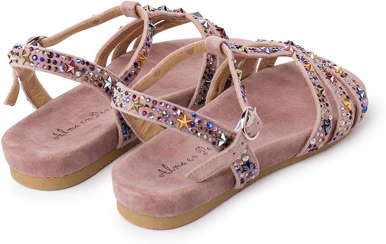 Alma en Pena Sandalia Confort Rosa EFICIENTE para Mujer V20843 Purple