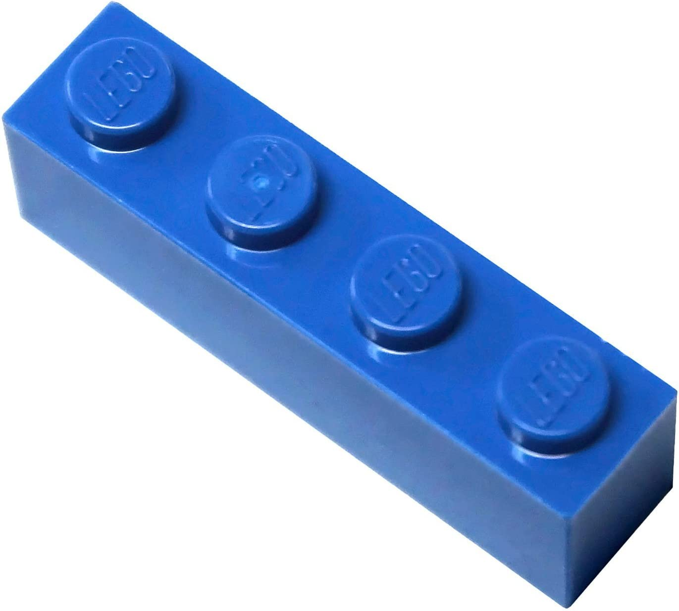 LEGO Parts and Pieces: Blue (Bright Blue) 1x4 Brick x20