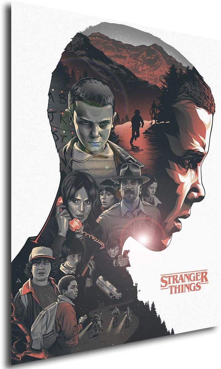 Poster Stranger Things (A) - A3 (42x30 cm): Amazon.es: Juguetes y juegos