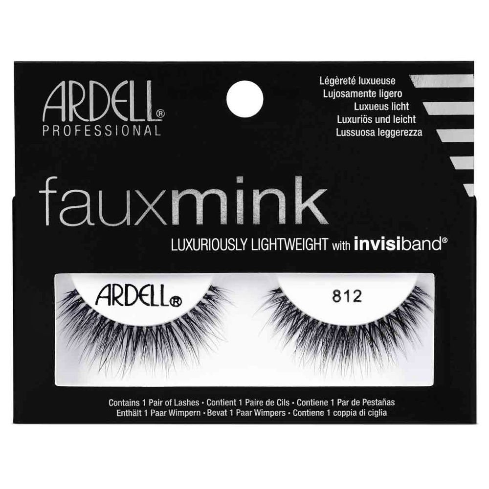 3e3a6ccdec4 Amazon.com : ARDELL Faux Mink - 812 Black : Beauty