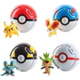 Pokemon Genie ball set includes 4 Spirits