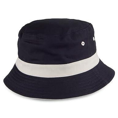 7b676566118 Failsworth Hats Reversible Bucket Hat - Navy-Stone Large X-Large   Amazon.co.uk  Clothing