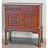 Hand Carved Wood Console Hall Table Review
