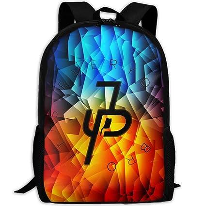 aa75ab54527e Amazon.com  Otpo Jake Paul It s Everyday Bro Fashion Backpack School ...