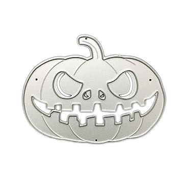 Kicode Halloween Metall DIY Kürbis Schneidmesser Stirbt ...