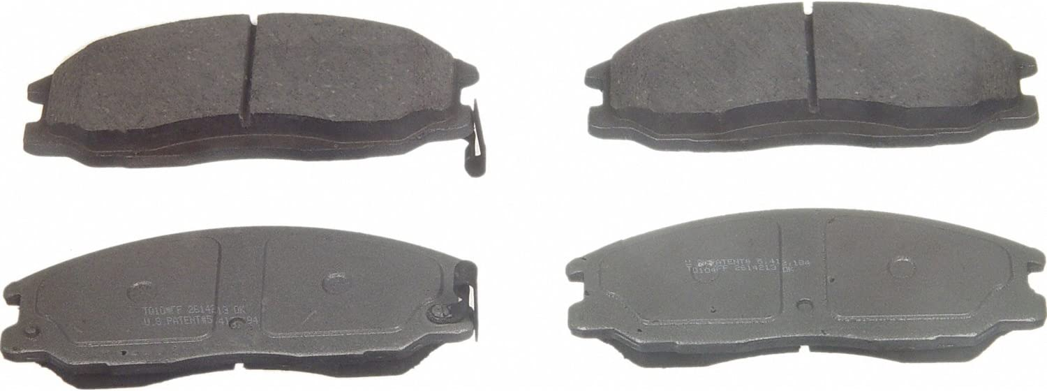 Disc Brake Pad Set-ThermoQuiet Disc Brake Pad Front Wagner PD864