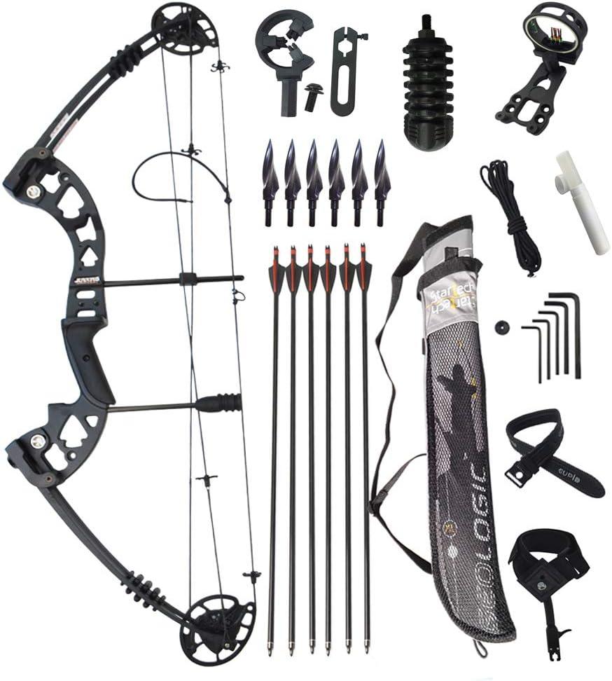 MILAEM 30~55LBS調節な 複合弓 34インチ コンパウンドボウ アーチェリー弓 節約力の割合:70% 狩猟弓 撮影魚弓 アーチェリーアウトドア 弓セット
