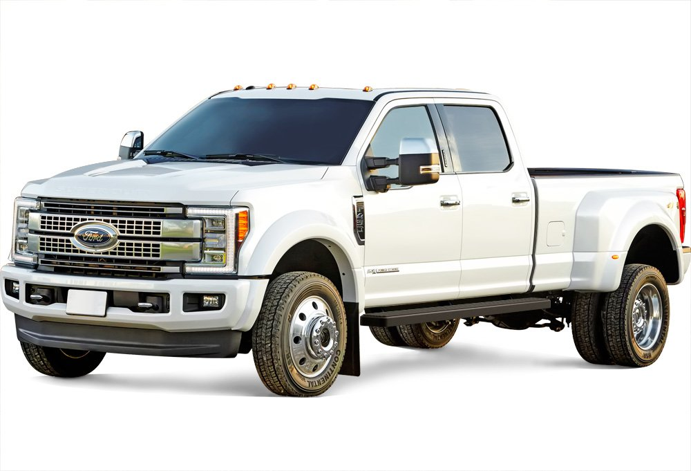 iBoard Running Boards 5 Custom Fit 1999-2016 Ford F250 F350 Super Duty Crew Cab Nerf Bars | Side Steps | Side Bars