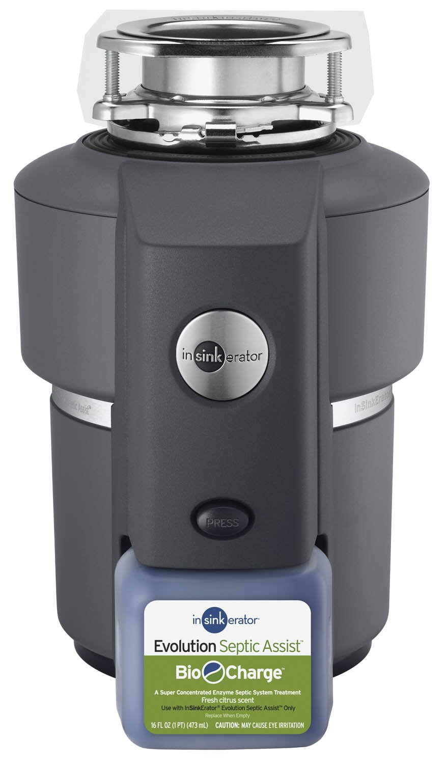 InSinkErator Evolution Septic Assist 3/4 HP Household Garbage Disposal    Food Waste Disposers   Amazon.com