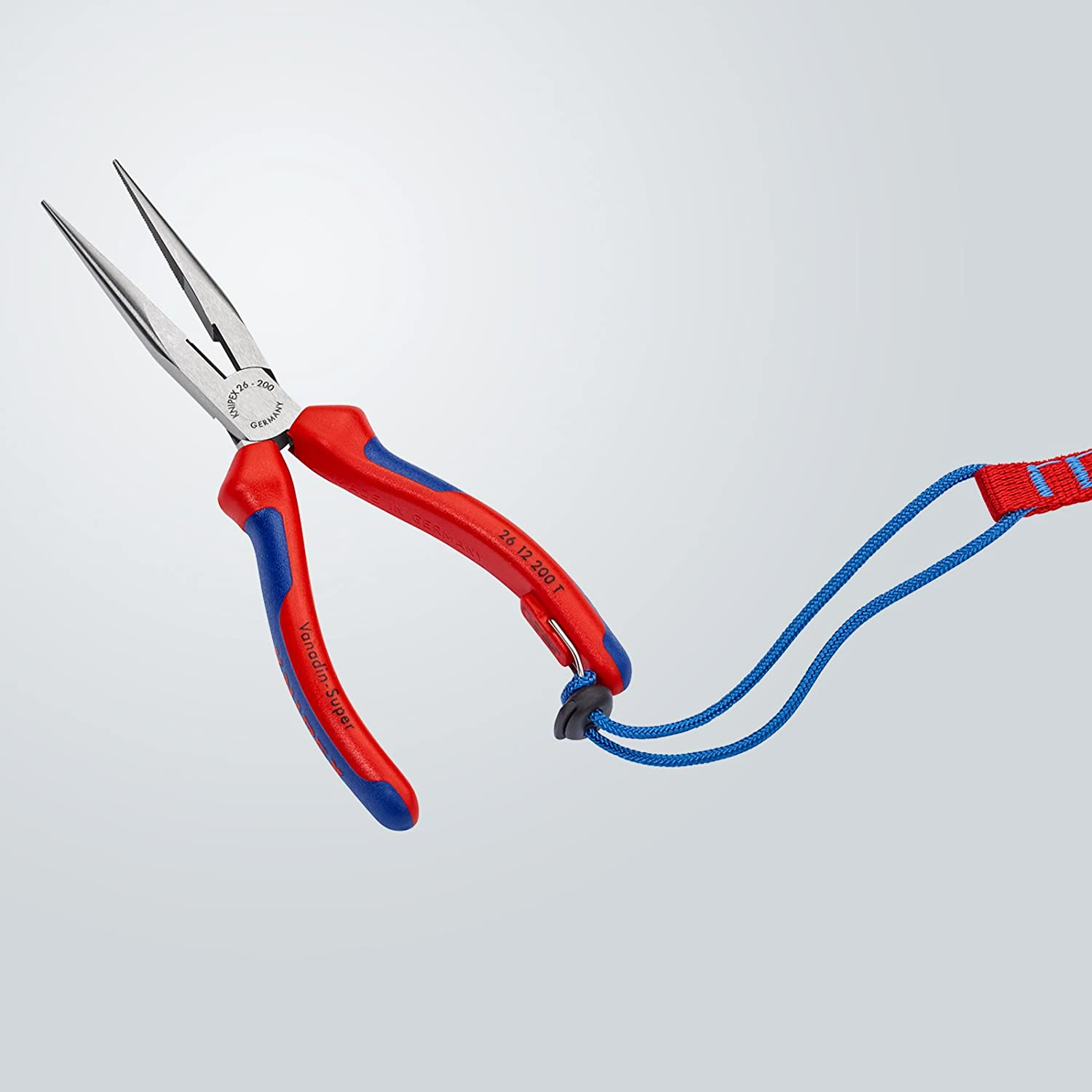 Knipex 26 12 200 T Stork Beak Pliers with tether attachment point 7, 87