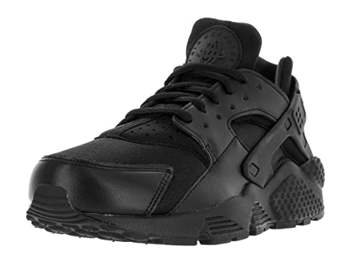cheap for discount d5a64 7034a NIKE Women s Air Huarache Run Textile Lace Up Trainer Black Black-Black-4   Amazon.co.uk  Shoes   Bags