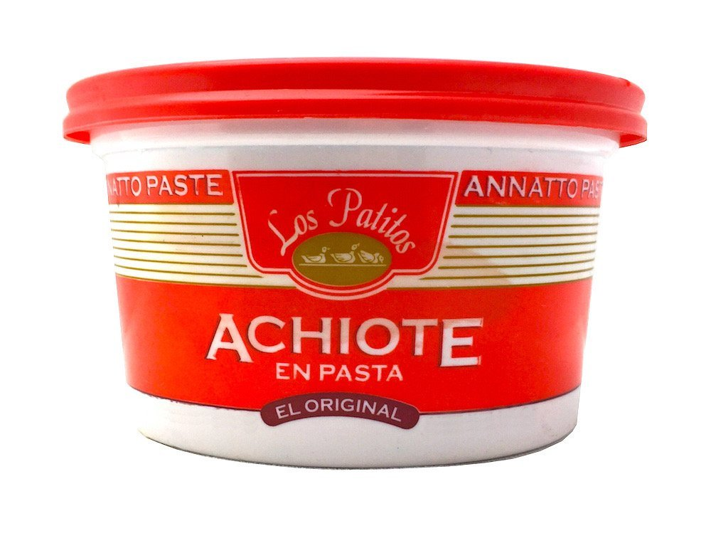 Amazon.com : Los Patitos Achiote Paste from Costa Rica, 3.2 oz. : Chile Pastes : Grocery & Gourmet Food