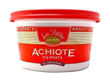 Los Patitos Achiote Paste - 3.2 Oz, from Costa Rica