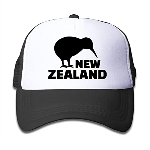 87edda99f Funny Mesh Child New Zealand Kiwi Lovely Baseball Cap Fitted Running ...