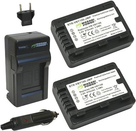 CARGADOR para Panasonic SDR s50 s70 s-50 s-70 Batería