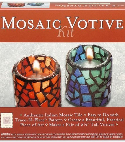 (Mosaic Mercantile Mosaic Votive Kit )