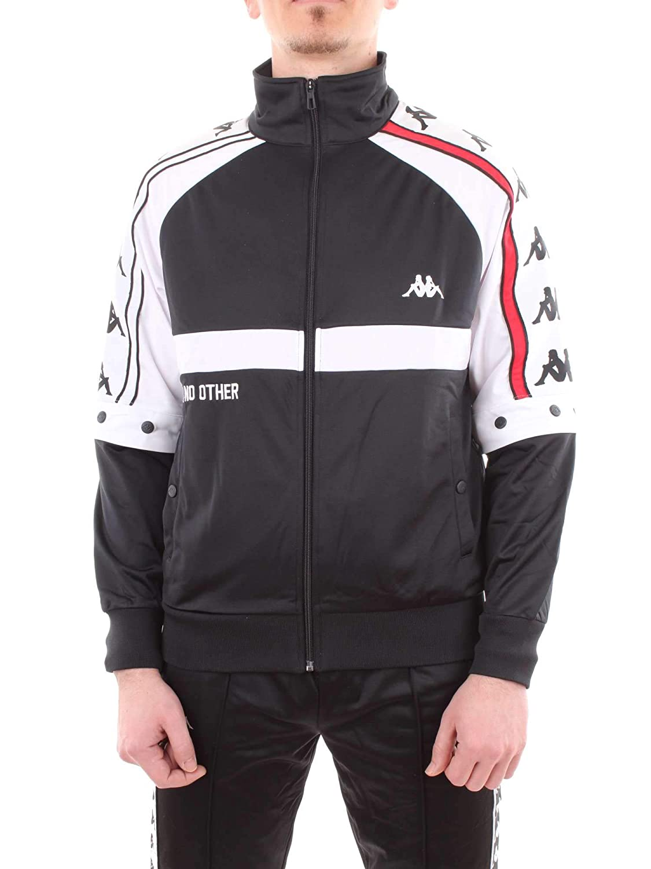 681edfbe02 Kappa Men's Authentic Bafer Track Jacket at Amazon Men's Clothing store: