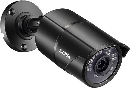 Opinión sobre ZOSI 1080P Cámara de Vigilancia Exterior 4-en-1 para Sistema de Seguridad, 30m Visión Nocturna