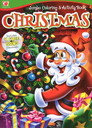 Christmas & Holiday Jumbo Coloring & Activity Book - v3 Christmas Color Pages Printable