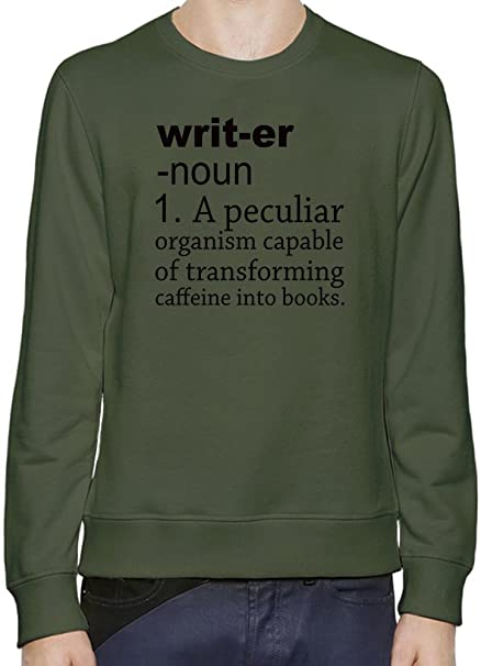 87961af1 Writer Definition Funny Sweater-Jumper For Men & Women| Custom -Printed T-