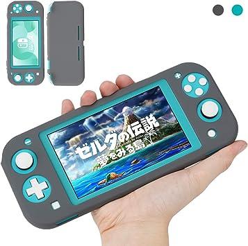 KIWI design Funda Protectora para Nintendo Switch Lite 2019, Funda de Silicona Suave Antideslizante y Antiarañazos ...