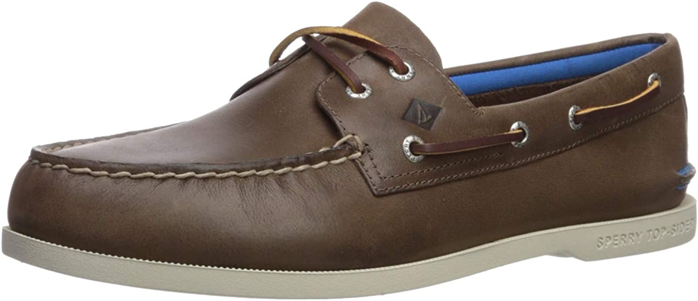 Sperry Men's, Authentic Original Plush Boat Shoes Brown 9.5 M