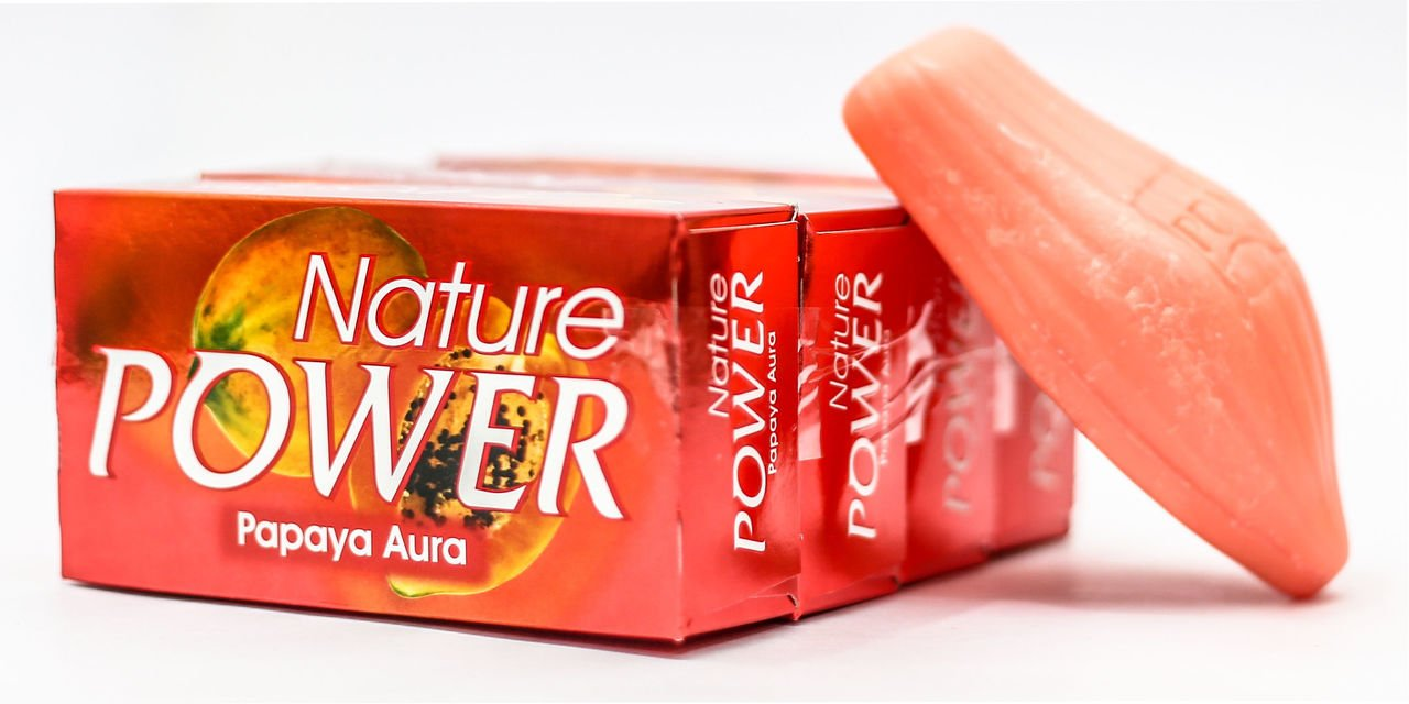 Buy Nature Power Papaya Aura Soap 4 Pieces X 125 G Online At Low Sabun Rose Red Prices In India