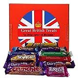 British Foods Worldwide Favourite Cadbury Selection   An assortment of 11 Cadbury British Chocolate Bars