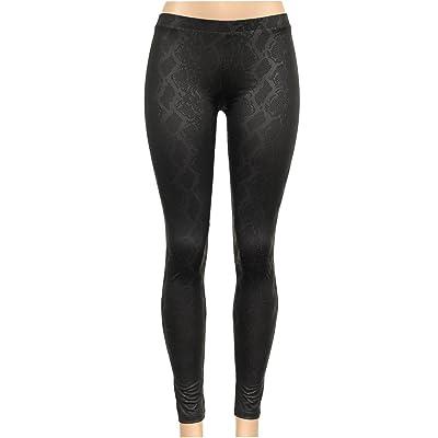 BEKDO Womens Anaconda Inspired Print Full Ankle Length Leggings at Amazon Women's Clothing store
