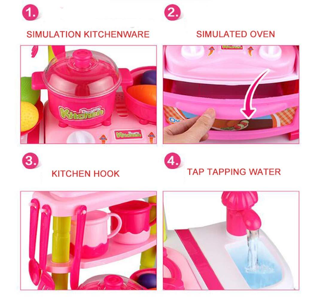 Cocina De Para Niños Imitación Juegos Cocinita nk8POX0w