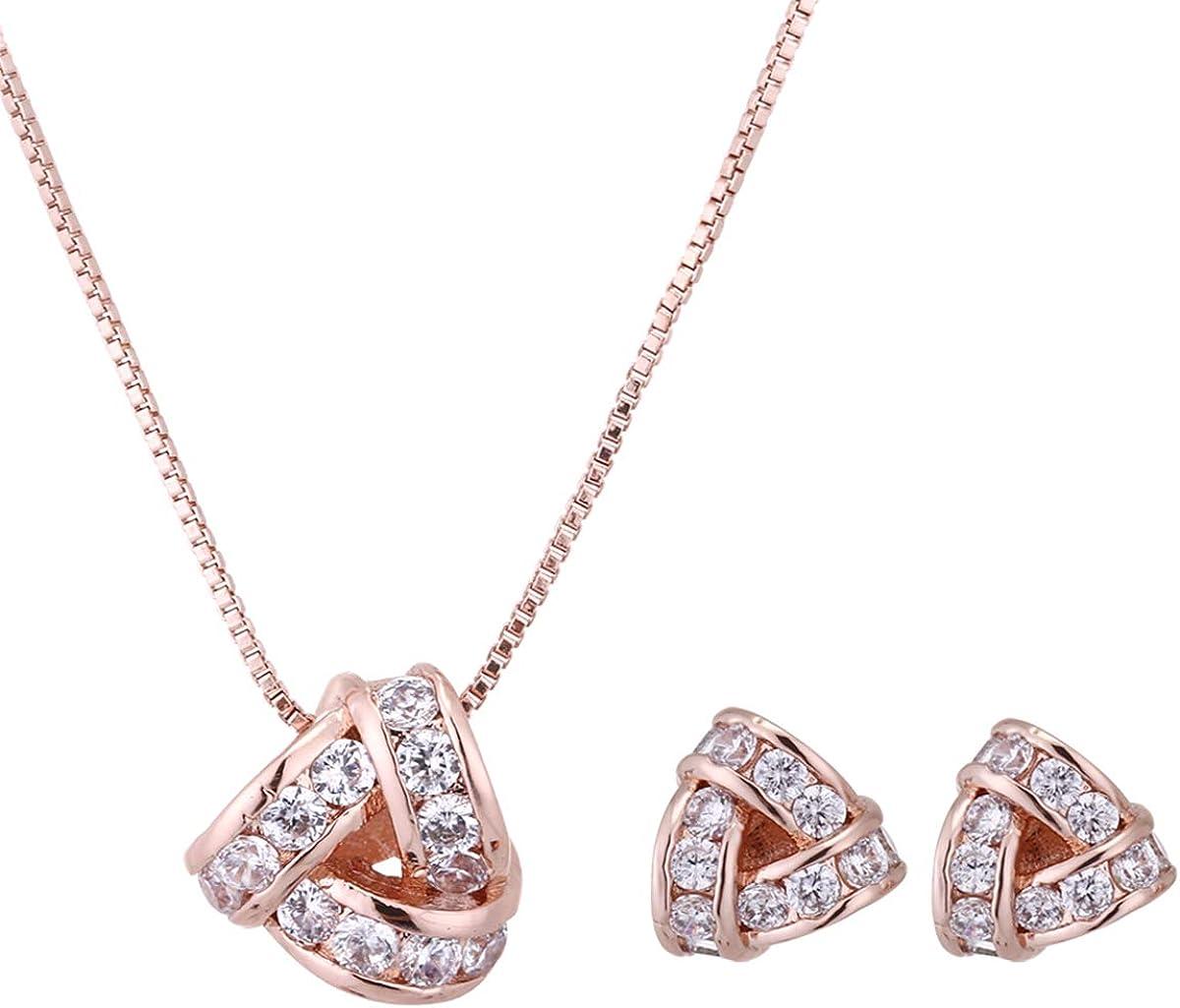 AMYJANE Bridal Jewelry Set...