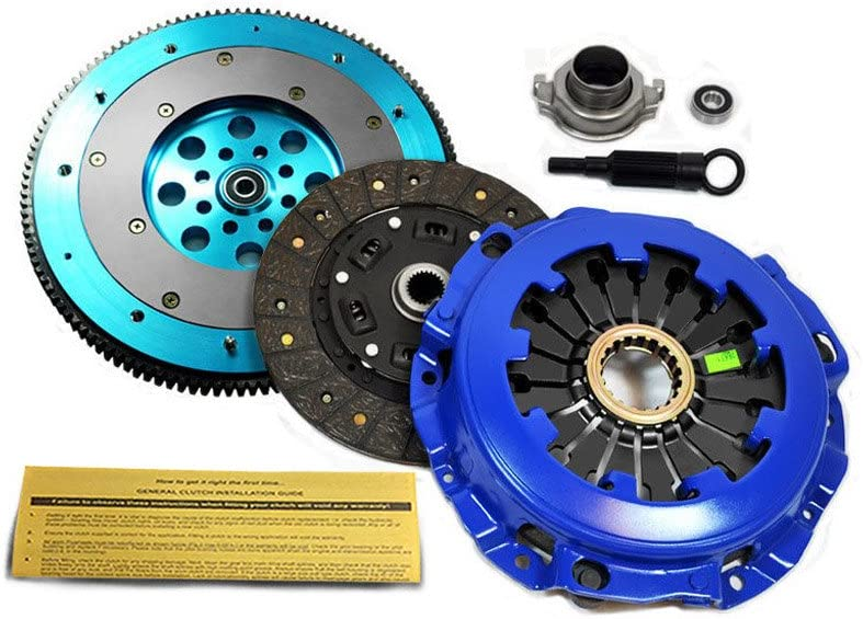 EFT STAGE 2 CLUTCH KIT /& ALUMINUM FLYWHEEL FOR 2002-2005 SUBARU IMPREZA WRX EJ205