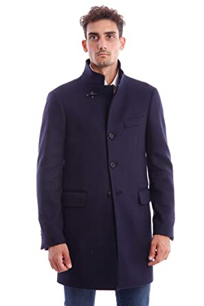 M Coat In Blue Fay Duty Homme Wool Taille zqvCUCw