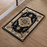 Household mats bathroom and kitchen carpet living room Ottomans bedroom door door mat -5080cm Dark blue