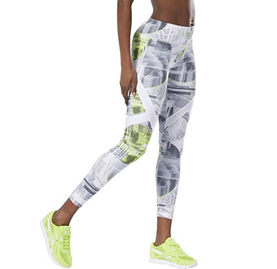 c78d2c1e61e02 Amazon.com : Reebok Women's Workout Ready Moonshift Legging : Clothing
