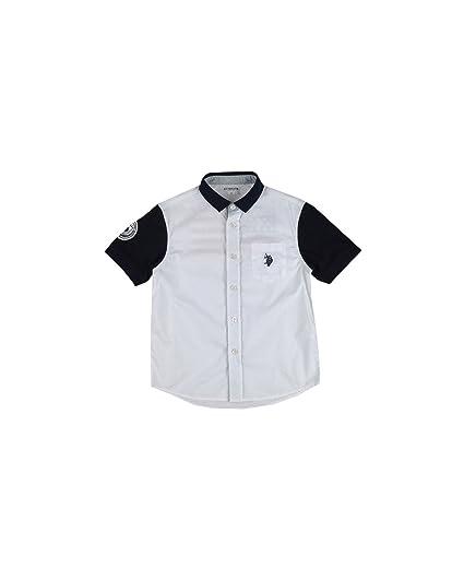 U.S.POLO ASSN. - Camisa - para niño Bianca - BLU 10 Años: Amazon ...