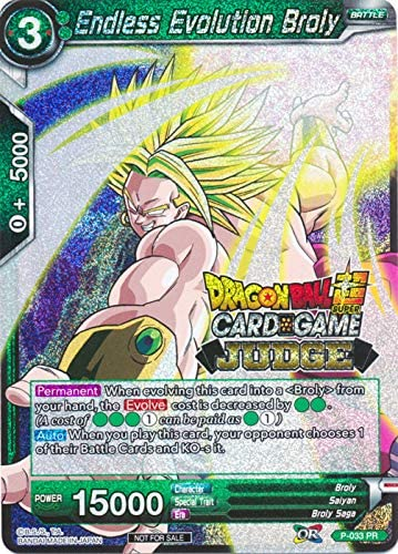 Unforseen Force Dragon Ball Super Card Game P-125 PROMO SS Broly