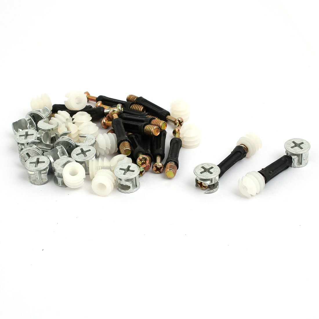 uxcellFurniture Board Fittings Connection Eccentric Wheel Nut 15 Sets US-SA-AJD-313626