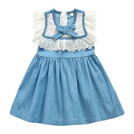 Vestidos Casuales De Las Niñas Baby Little Girls Princess