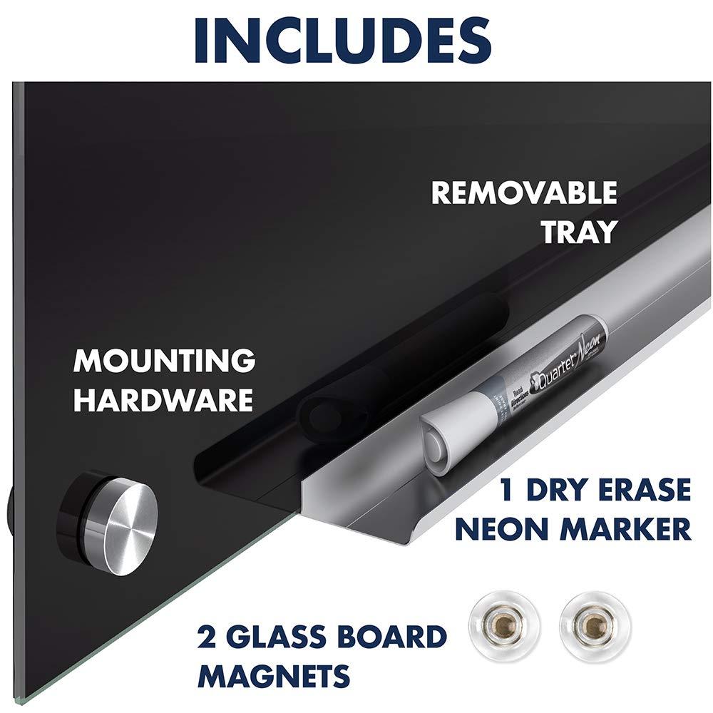 Quartet Infinity Magnetic Glass Dry Erase Board White 3413820115 4 X 3 Feet