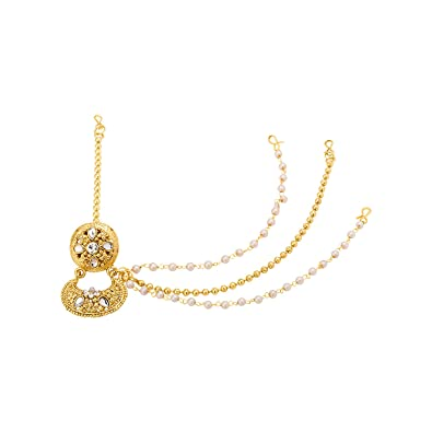 34d675d0676 Buy Voylla Gold Plated Hair Jewellery for Women (8907617446806) Online at  Low Prices in India