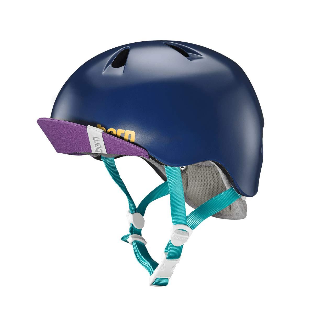 2017 Nina Satin Navy Blue w/ Flip Visor (XS/S)