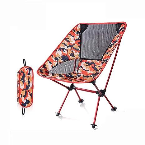 DOKJ Silla de Camping Plegable, Aleación Aluminio Tela ...
