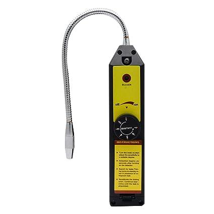 Halógena Corona - Detector de Fugas de Gas refrigerante comprobador R410 A R22 a R134 a