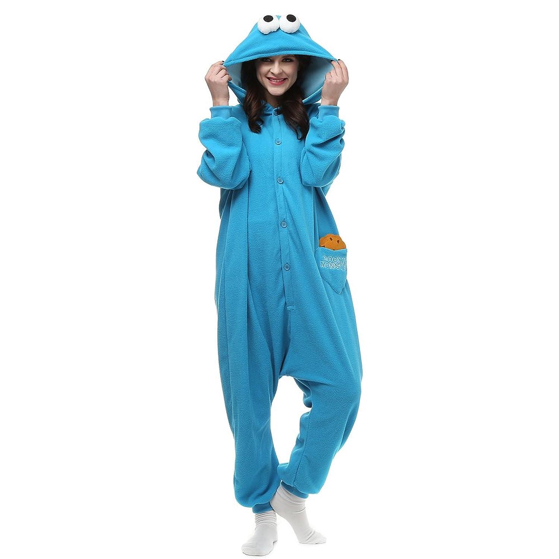 Amazon Es Unico Cookie Monster esie For Adult Halloween