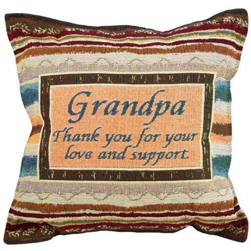 Amazon.com: El Abuelo almohada – Abuelo regalo – 12 x 12 x 4 ...