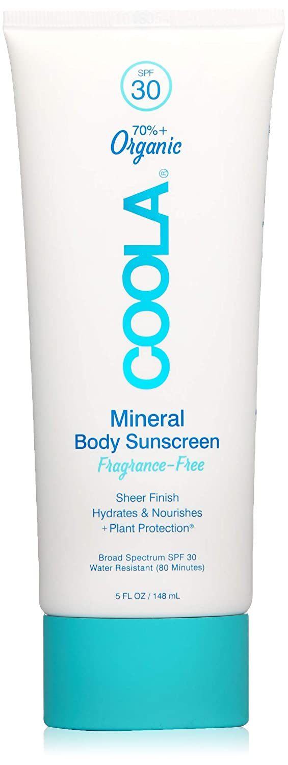 COOLA Organic Mineral Body Lotion | Broad Spectrum SPF 30
