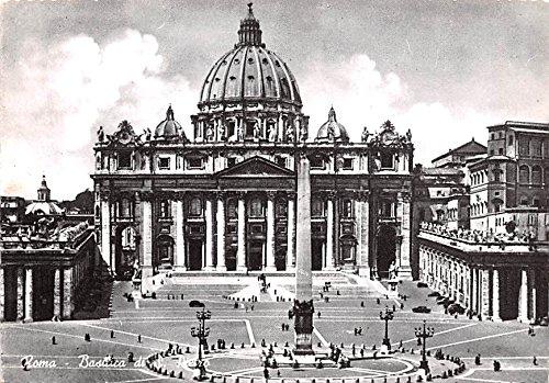 (Roma Basilica di S Pietro Italy Postcard)